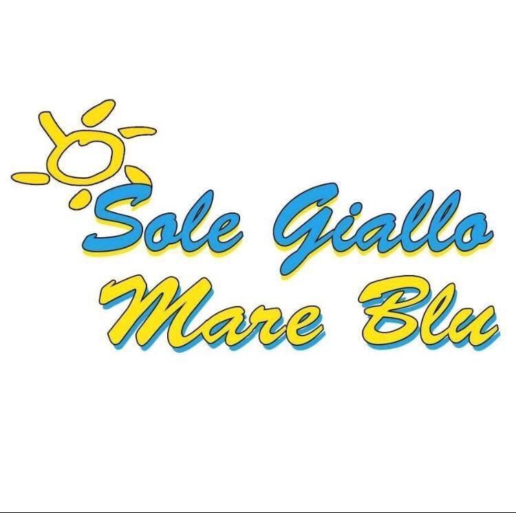 Sposi in Campania - Sole giallo mare blu logo