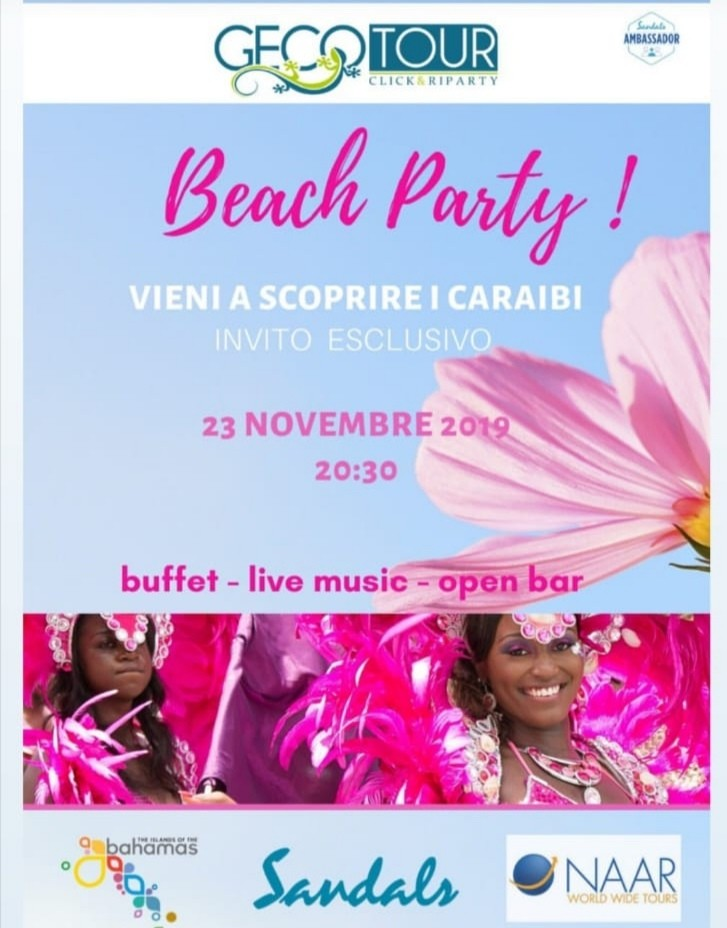 Beach Party by Geco Tour