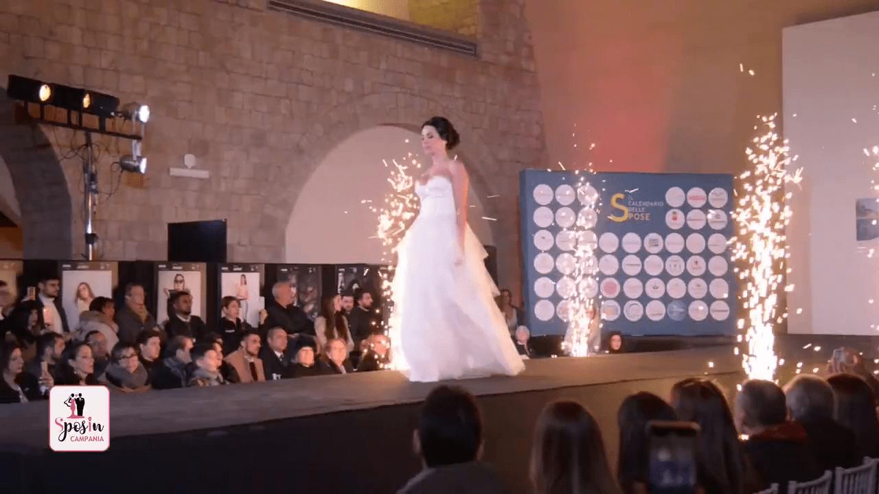 Il Calendario delle Spose e la notte magica a Castel dell'Ovo