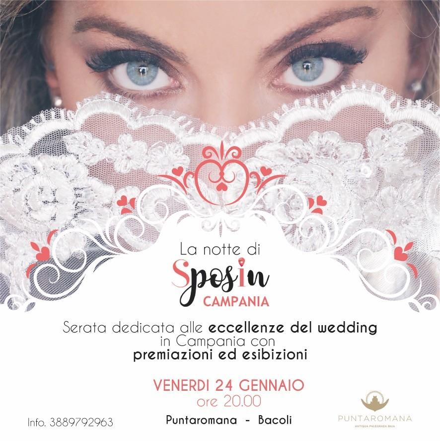 La Notte di Sposincampania a Puntaromana con le eccellenze del wedding