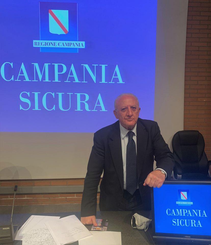 """De Luca: """"Da metà giugno riparte il wedding in Campania"""""""