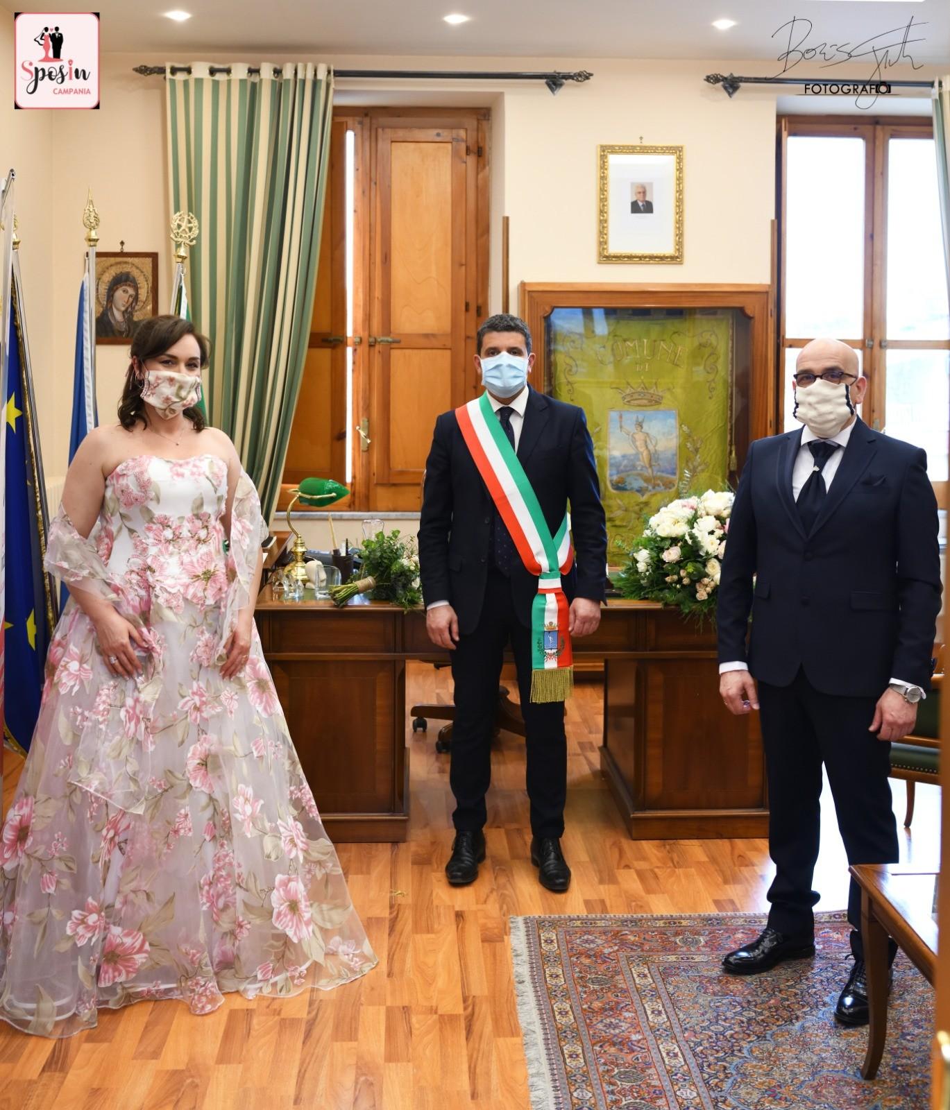 Il matrimonio social a Mercogliano di Antonio ed Emy