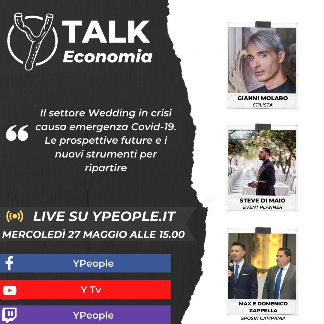 SposIn Campania con Gianni Molaro e Steve Di Maio ospiti a YTalk