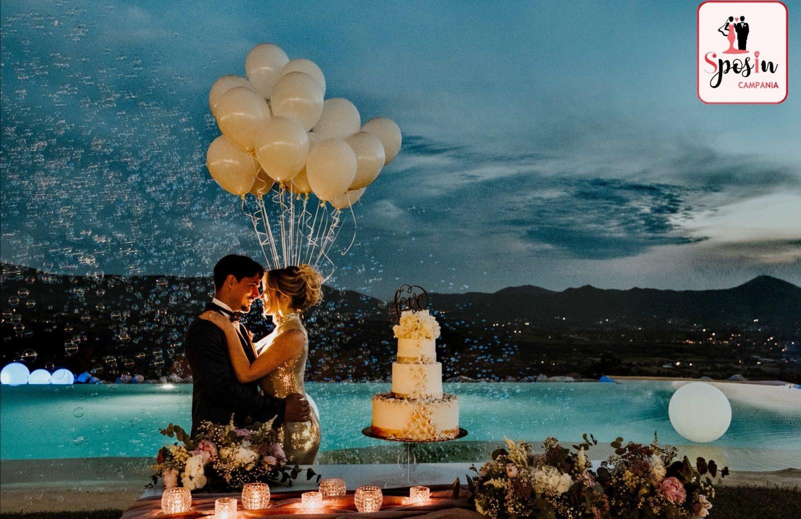 Il pre wedding di SposIn Campania a Villa Aristea