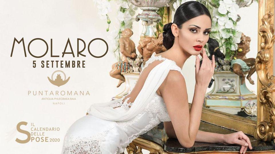 Gianni Molaro Fashion Show con il Calendario delle Spose, sabato a Puntaromana