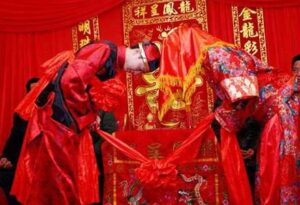 Inchino tra gli sposi in Cina