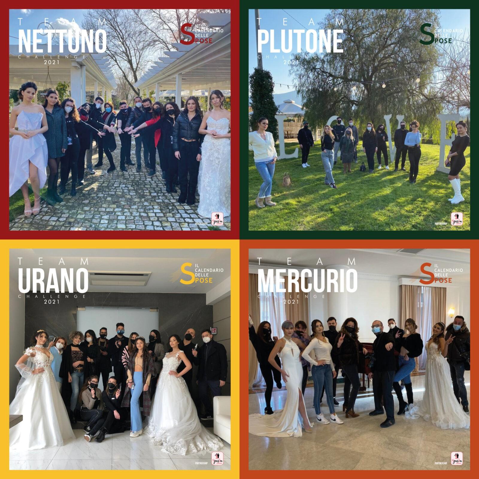 La challenge de Il Calendario delle Spose. SposIn Campania è partner