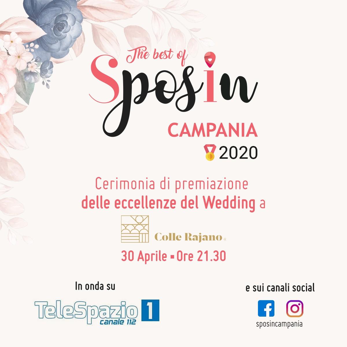 The Best of Sposincampania 2020, The Best of Sposincampania, SposIn Campania, Telespazio, Gianni Molaro, wedding campania, wedding, premi wedding campania, matrimoni campania, sposi campania, premiazione sposincampania, eventi campania