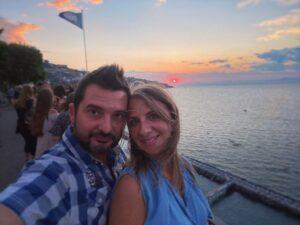 Suggestiva ed emozionante è stata anche la proposta di matrimonio che Salvatore ha fatto a Viviana.
