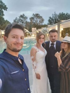 Sposi Live Social a Villa Eubea Anna e Luigi con Mara Grimaldi Wedding Planner