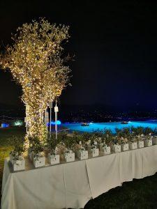 Un matrimonio dalle mille emozioni a Villa Aristea bomboniere
