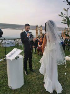 Un matrimonio dalle mille emozioni a Villa Aristea rito simbolico