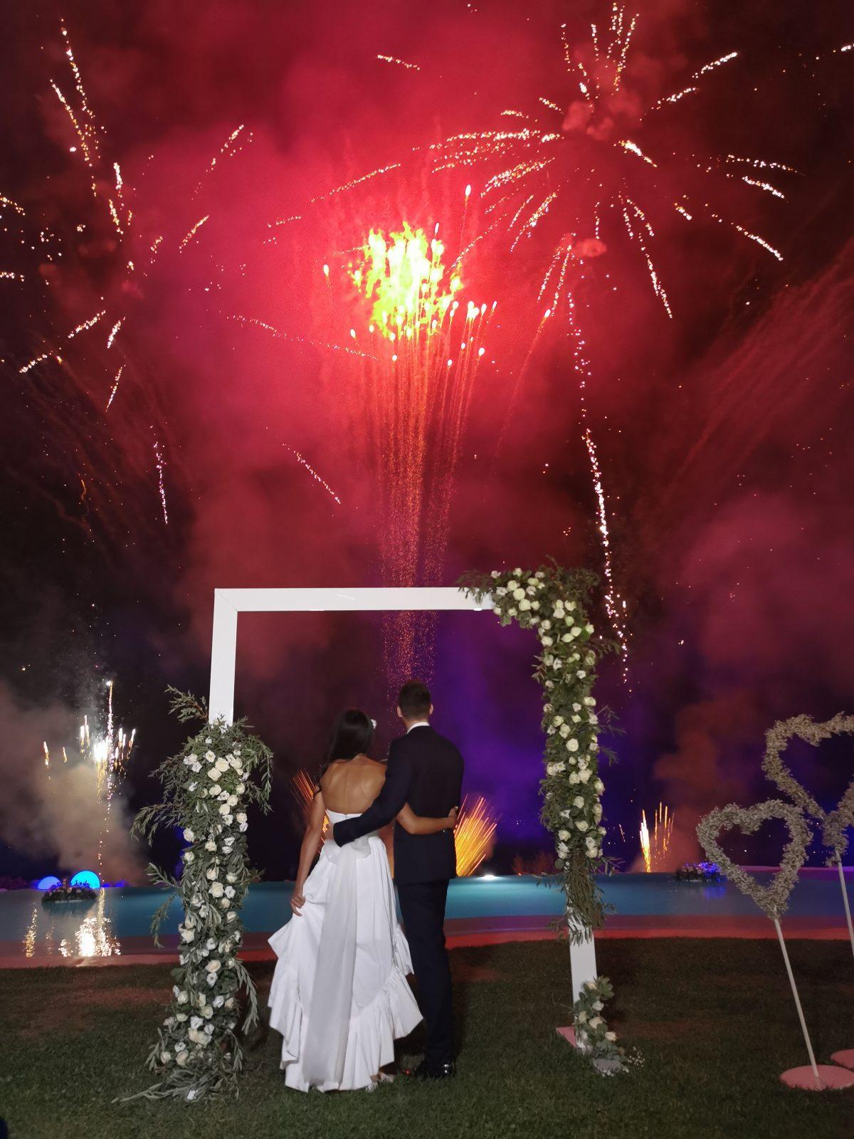 Un matrimonio dalle mille emozioni a Villa Aristea